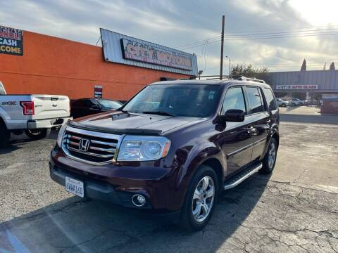2012 Honda Pilot for sale at City Motors in Hayward CA