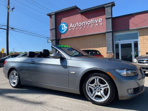 2009 BMW 3 Series for sale at Automotive Solutions in Louisville KY