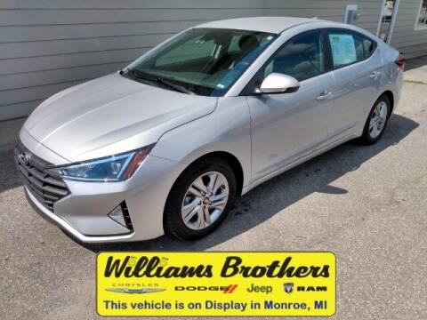 2019 Hyundai Elantra for sale at Williams Brothers - Pre-Owned Monroe in Monroe MI