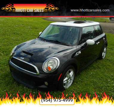 2009 MINI Cooper for sale at HHOTT CAR SALES in Deerfield Beach FL