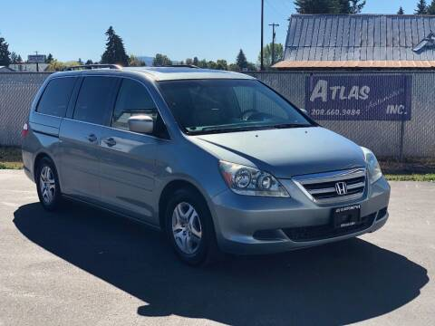 2005 Honda Odyssey for sale at Atlas Automotive Sales in Hayden ID