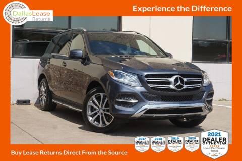 2016 Mercedes-Benz GLE for sale at Dallas Auto Finance in Dallas TX