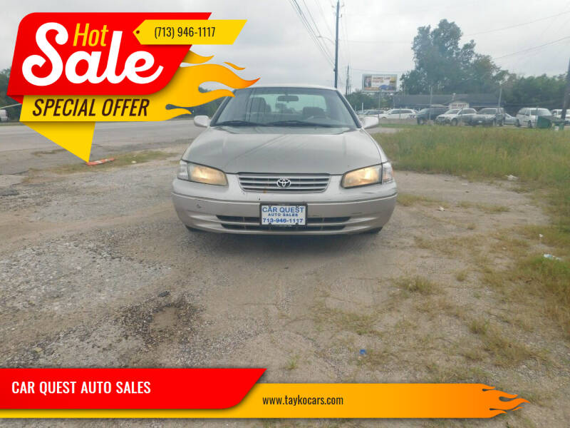 1999 Toyota Camry for sale at CAR QUEST AUTO SALES in Houston TX