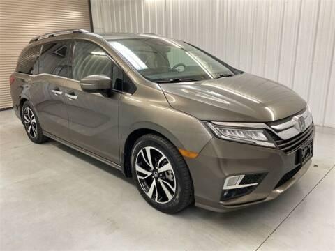 2018 Honda Odyssey for sale at JOE BULLARD USED CARS in Mobile AL
