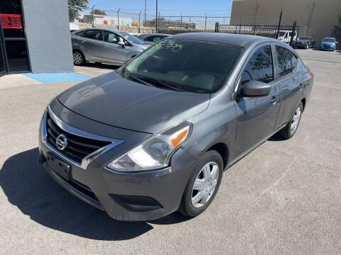 2016 Nissan Versa for sale at Legend Auto Sales in El Paso TX