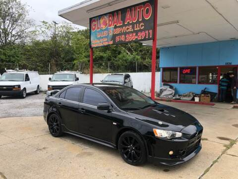 2009 Mitsubishi Lancer for sale at Global Auto Sales and Service in Nashville TN