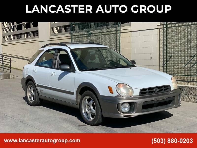 2002 Subaru Impreza for sale at LANCASTER AUTO GROUP in Portland OR