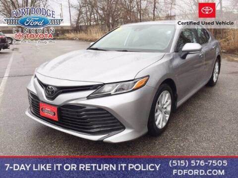 2019 Toyota Camry for sale at Fort Dodge Ford Lincoln Toyota in Fort Dodge IA