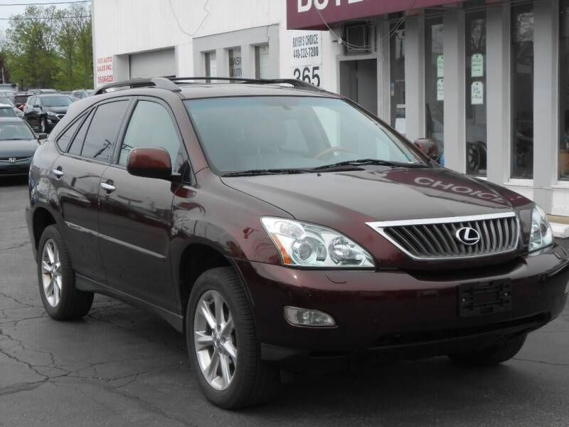 2009 Lexus RX 350 for sale at Buyers Choice Auto Sales in Bedford OH