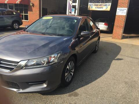 2013 Honda Accord for sale at Cote & Sons Automotive Ctr in Lawrence MA