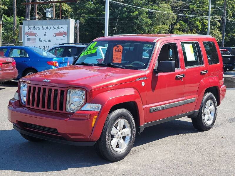 2010 Jeep Liberty for sale at United Auto Service in Leominster MA