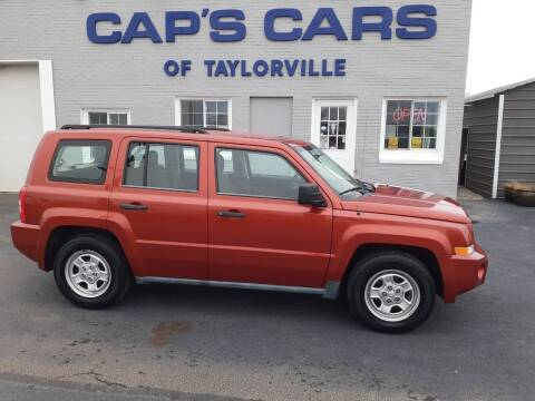 2010 Jeep Patriot for sale at Caps Cars Of Taylorville in Taylorville IL
