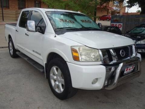 2011 Nissan Titan for sale at R & D Motors in Austin TX