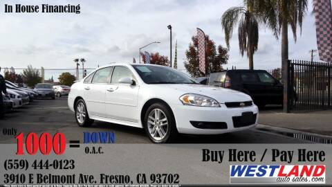 2016 Chevrolet Impala Limited for sale at Westland Auto Sales in Fresno CA