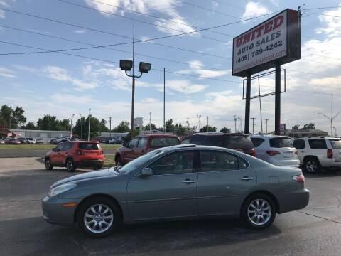2004 Lexus ES 330 for sale at United Auto Sales in Oklahoma City OK