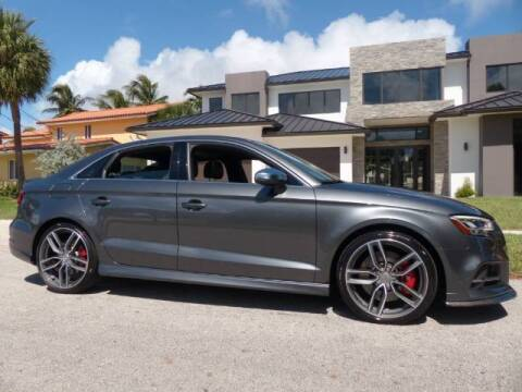 2018 Audi S3 for sale at Lifetime Automotive Group in Pompano Beach FL