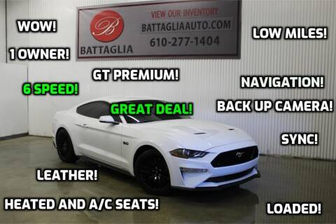 2018 Ford Mustang for sale at Battaglia Auto Sales in Plymouth Meeting PA