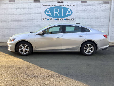 2016 Chevrolet Malibu for sale at ARIA  AUTO  SALES in Raleigh NC