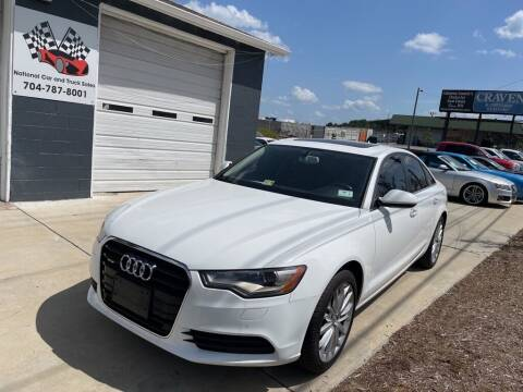 2014 Audi A6 for sale at NATIONAL CAR AND TRUCK SALES LLC - National Car and Truck Sales in Concord NC