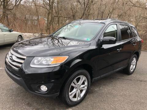 2012 Hyundai Santa Fe for sale at SARRACINO AUTO SALES INC in Burgettstown PA