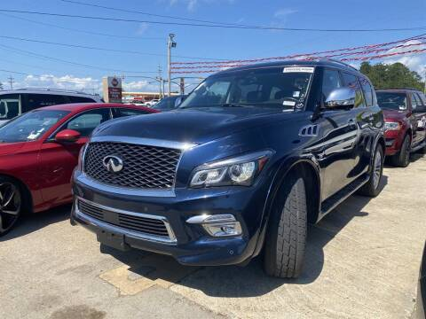 2017 Infiniti QX80 for sale at Direct Auto in D'Iberville MS