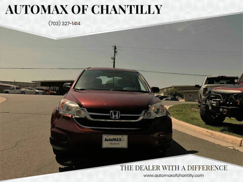 2011 Honda CR-V for sale at Automax of Chantilly in Chantilly VA