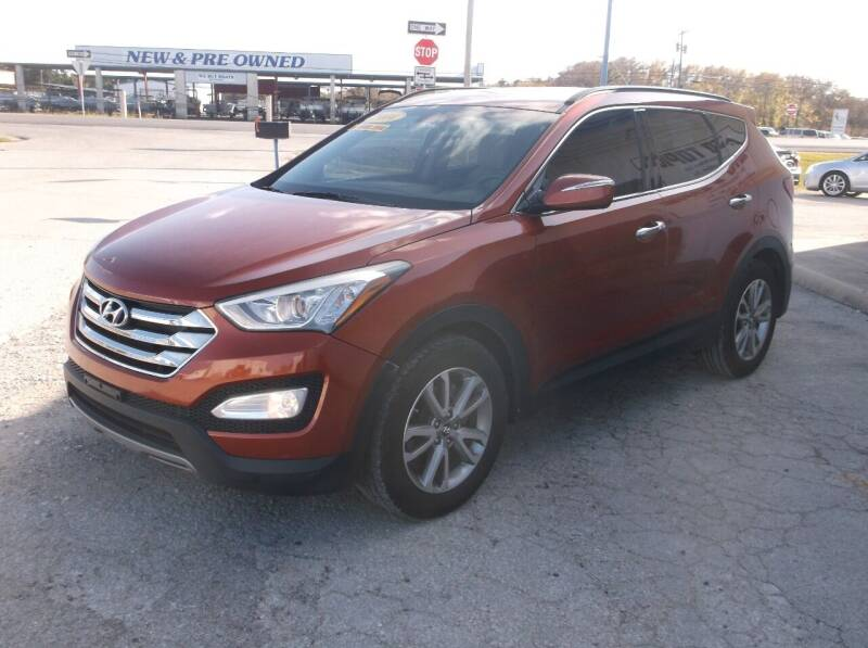 2014 Hyundai Santa Fe Sport for sale at AUTO TOPIC in Gainesville TX