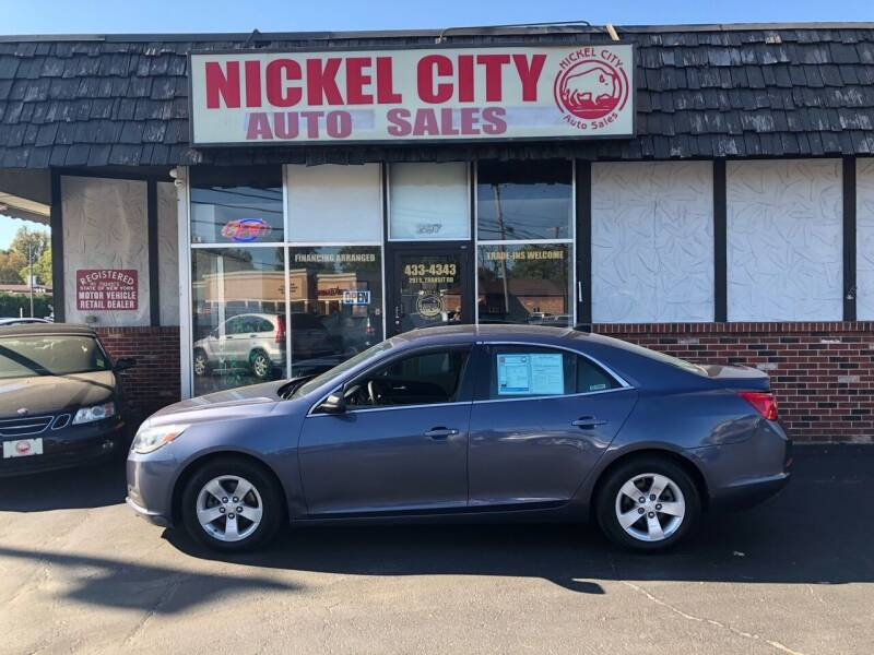 2013 Chevrolet Malibu for sale at NICKEL CITY AUTO SALES in Lockport NY