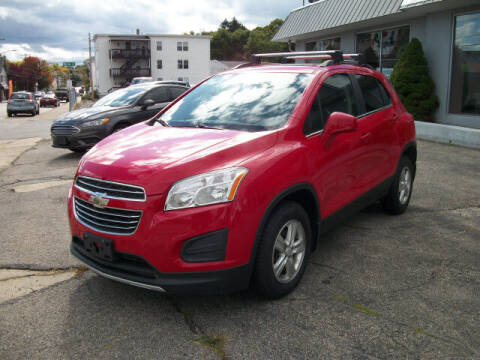2016 Chevrolet Trax for sale at Knight Automotive in Southbridge MA