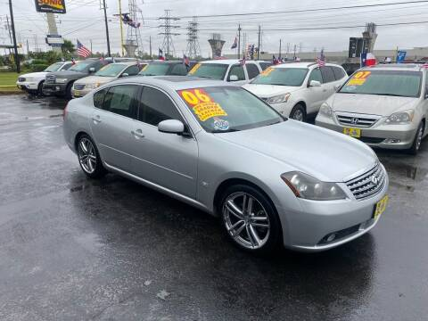 2006 Infiniti M35 for sale at Texas 1 Auto Finance in Kemah TX