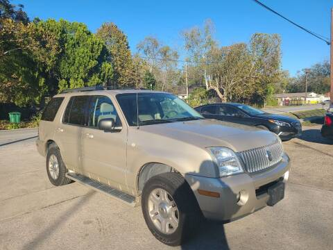 2005 Mercury Mountaineer for sale at G&J Car Sales in Houston TX