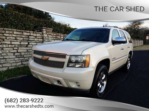 2008 Chevrolet Tahoe for sale at The Car Shed in Burleson TX