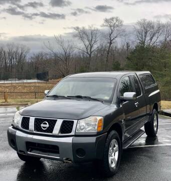 2004 Nissan Titan for sale at ONE NATION AUTO SALE LLC in Fredericksburg VA