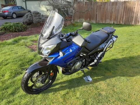 2007 Suzuki DL 1000 V STROM for sale at METROPOLITAN MOTORS in Kirkland WA