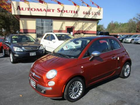 2012 FIAT 500 for sale at Automart South in Alabaster AL
