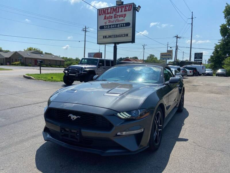 2020 Ford Mustang for sale at Unlimited Auto Group in West Chester OH