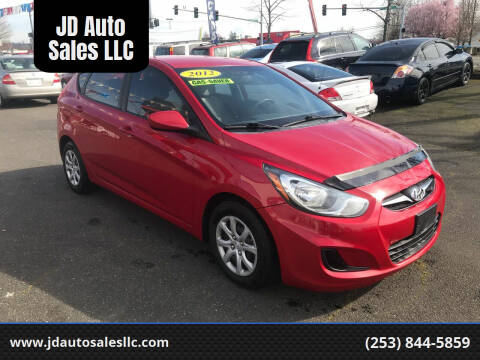 2012 Hyundai Accent for sale at JD Auto Sales LLC in Fife WA