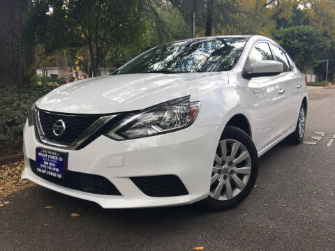 2018 Nissan Sentra for sale at Valley Coach Co Sales & Lsng in Van Nuys CA