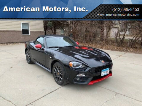 2017 FIAT 124 Spider for sale at American Motors, Inc. in Farmington MN