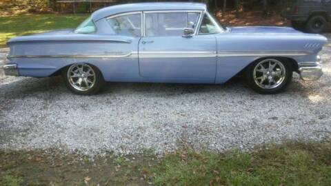 1958 Chevrolet Biscayne for sale at Classic Car Deals in Cadillac MI
