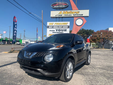 2015 Nissan JUKE for sale at A MOTORS SALES AND FINANCE - 6226 San Pedro Lot in San Antonio TX