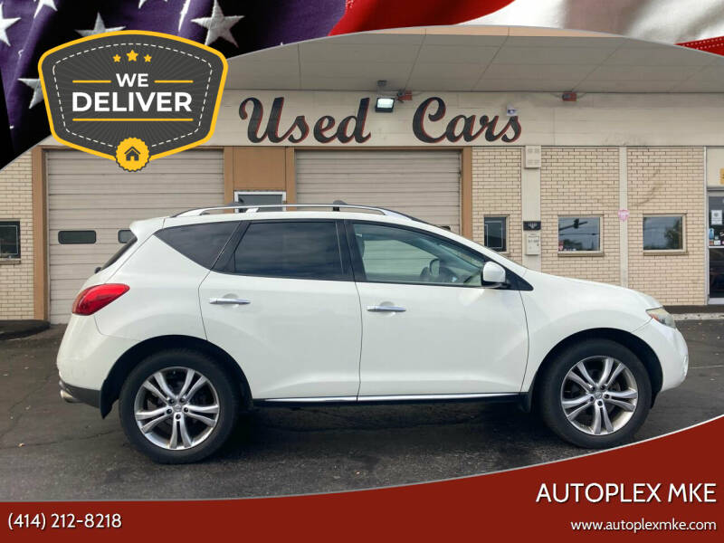 2009 Nissan Murano for sale at Autoplexwest in Milwaukee WI