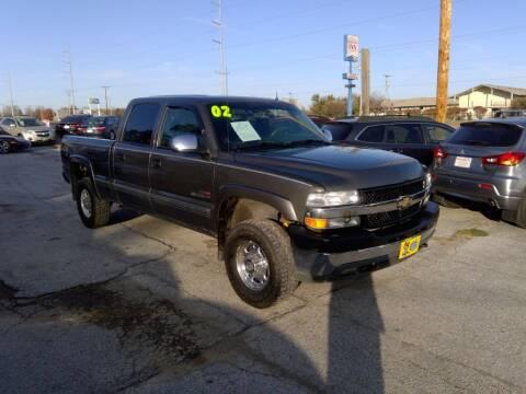 2002 Chevrolet Silverado 2500HD for sale at Regency Motors Inc in Davenport IA