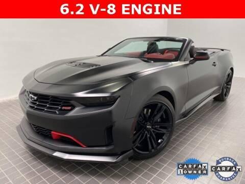 2021 Chevrolet Camaro for sale at CERTIFIED AUTOPLEX INC in Dallas TX