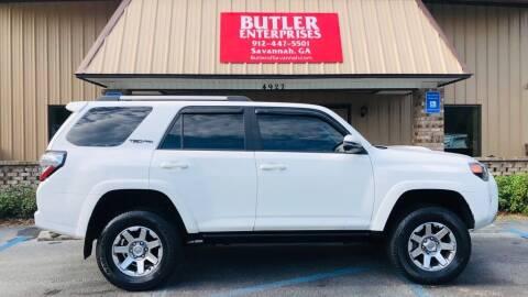 2016 Toyota 4Runner for sale at Butler Enterprises in Savannah GA