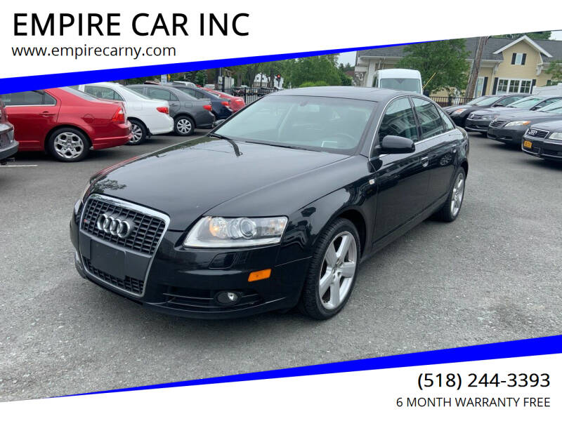 2008 Audi A6 for sale at EMPIRE CAR INC in Troy NY