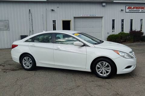 2011 Hyundai Sonata for sale at Superior Motors in Mount Morris MI
