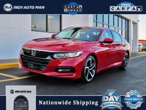 2019 Honda Accord for sale at INDY AUTO MAN in Indianapolis IN