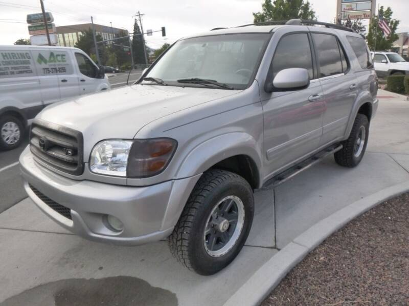 2004 Toyota Sequoia for sale at Ideal Cars and Trucks in Reno NV