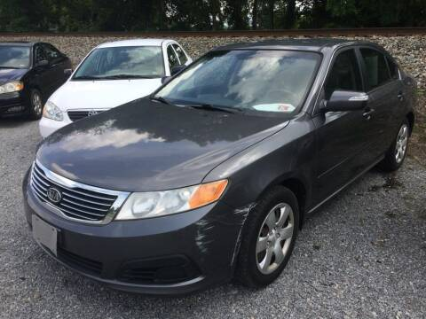 2009 Kia Optima for sale at Abingdon Auto Specialist Inc. in Abingdon VA